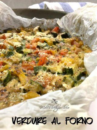 verdure croccanti al forno