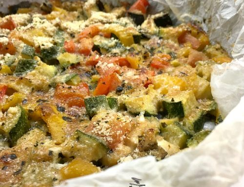 Verdure croccanti al forno ricetta facile e veloce