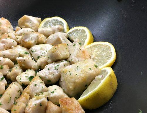 Pollo al limone ricetta facile e veloce