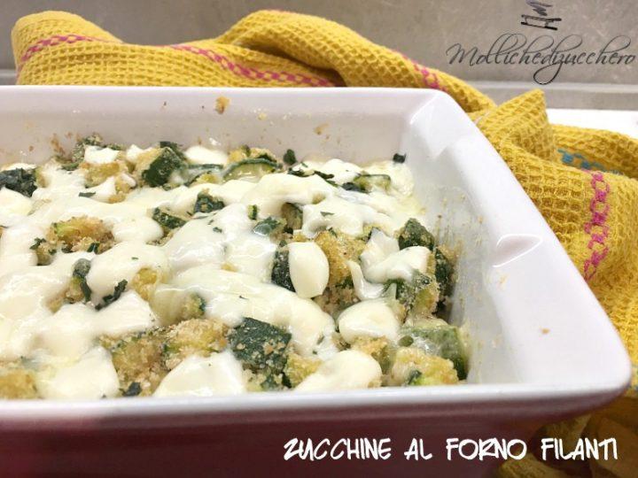 Zucchine al Forno Ricetta Facile e Veloce
