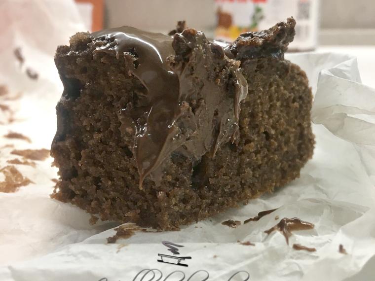 quadrotti cremosi al cioccolato