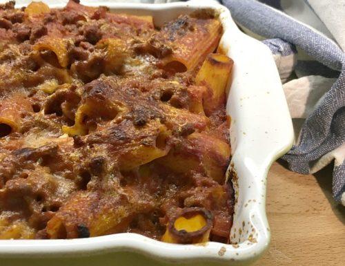 Pasta al forno ricetta saporita e veloce