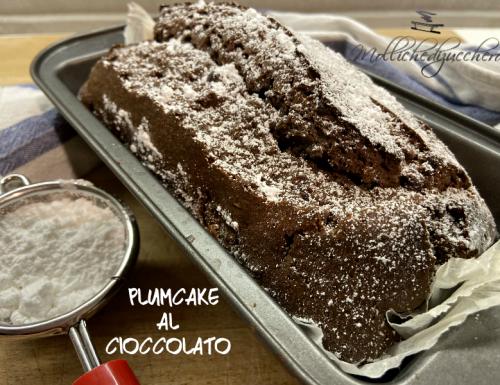 Plumcake al cioccolato ricetta veloce