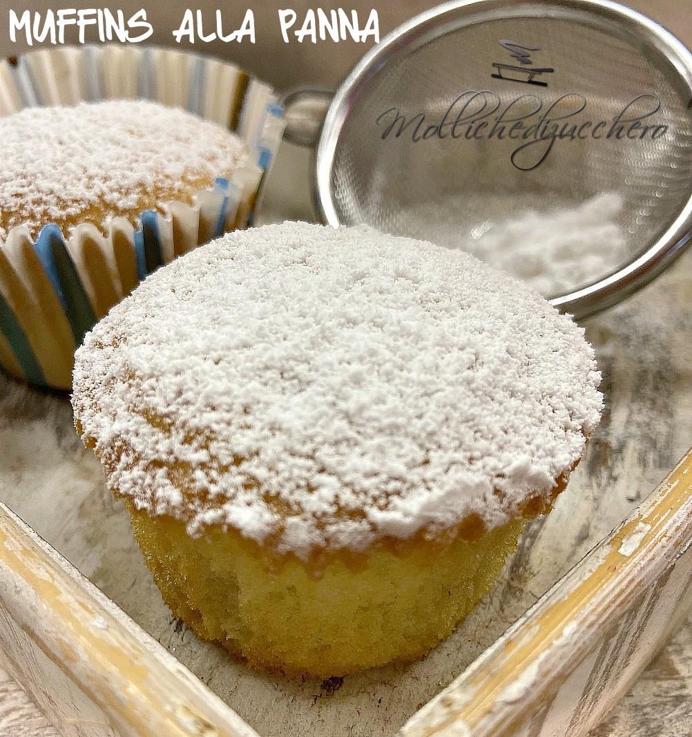 muffins soffici alla panna