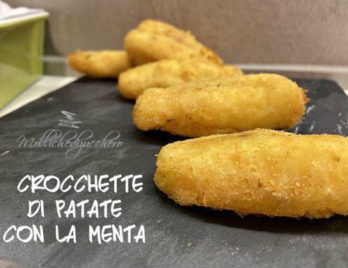 Crocchette di patate con la menta