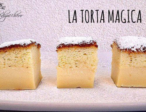La torta magica: un solo impasto e tre torte