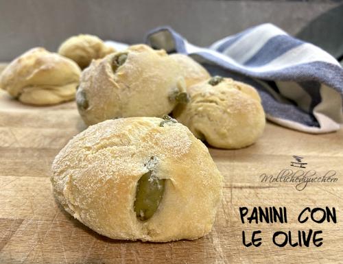 Panini con le olive ricetta facile