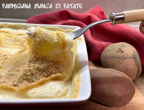 Parmigiana bianca di patate ricetta saporita