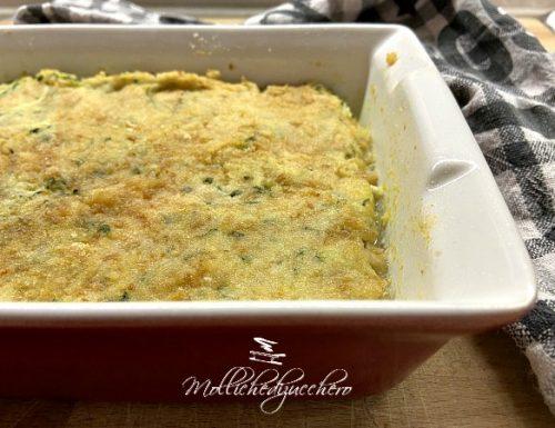 Sformato di zucchine ricetta saporita e filante