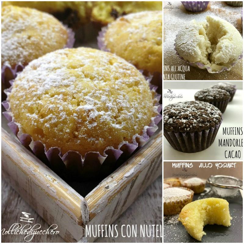 Ricetta Muffin Un Uovo.Muffins Sofficissimi Ricetta Perfetta Mollichedizucchero