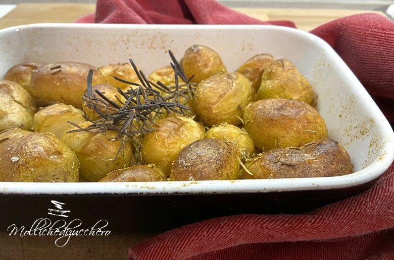 Patate novelle al forno ricetta facile