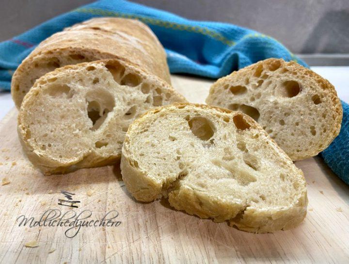 pane croccante fatto in casa