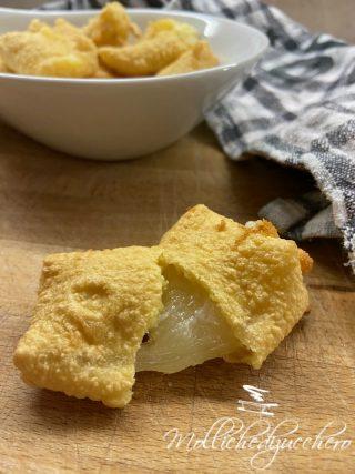 formaggio fritto e filante