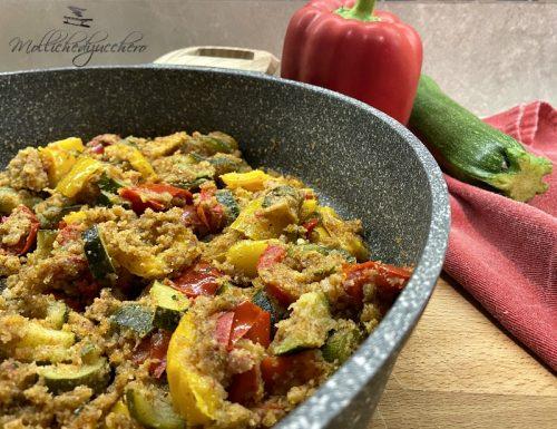 Verdure gratinate in padella ricetta saporita