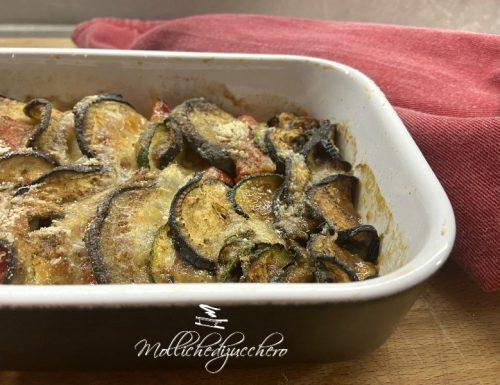 Contorno di verdure al forno ricetta filante