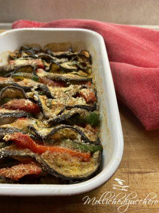 contorno di verdure al forno