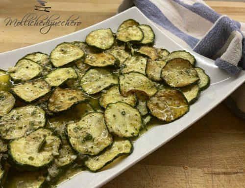 Zucchine alla scapece ricetta saporita