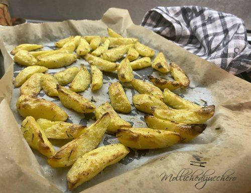 Patate al forno dorate e croccanti