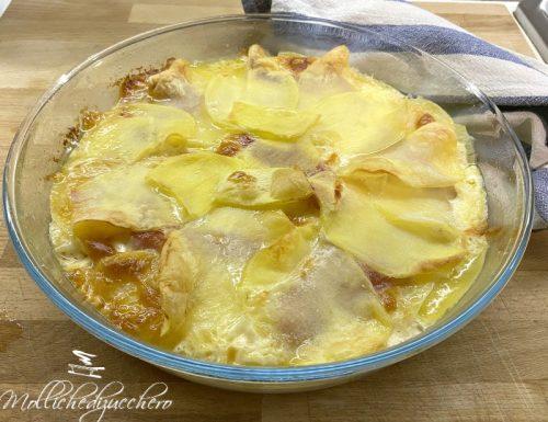 Tortino di patate filanti ricetta svuotafrigo