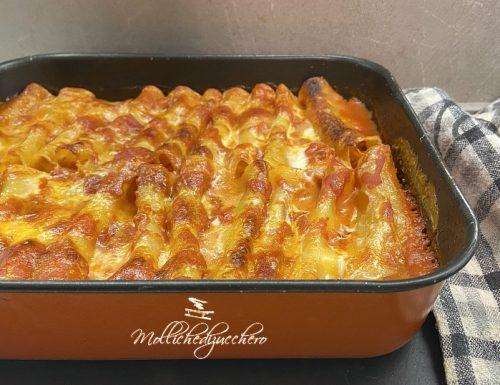 Cannelloni ripieni al forno ricetta saporita