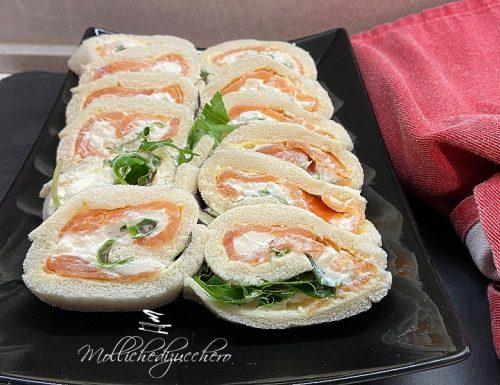Girelle al salmone ricetta sfiziosa
