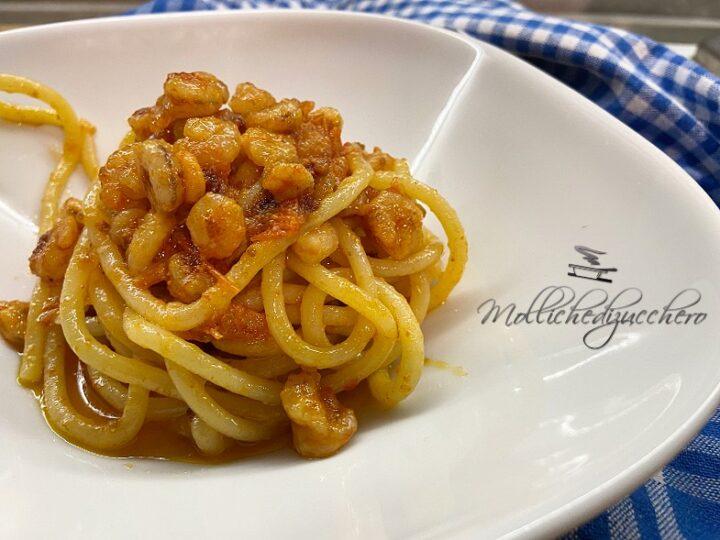 pasta con gamberetti e pomodorini