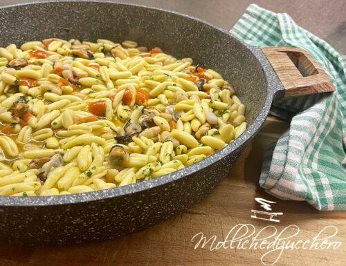 Cavatelli fagioli e cozze ricetta tipica