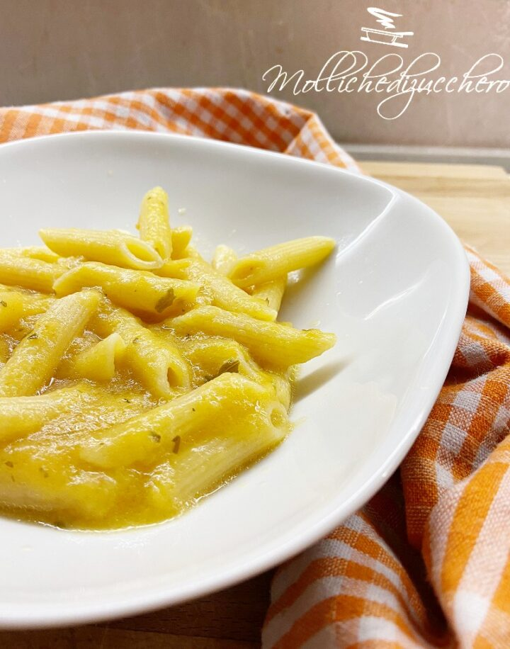 pasta con pomodorini gialli
