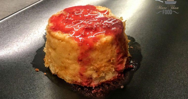 Ricetta tortino di Cavolfiore con salsa al melograno