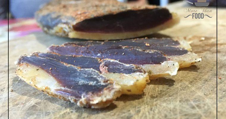 La ricetta contadina del prosciutto d'anatra. Perché l'anatra non é solo all'arancia