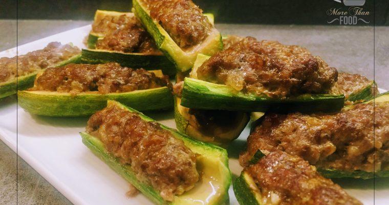 Zucchine ripiene. Tonde o a barchetta, sempre un classico della cucina italiana