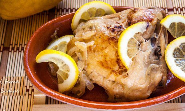 Pollo al limone, ricetta facile