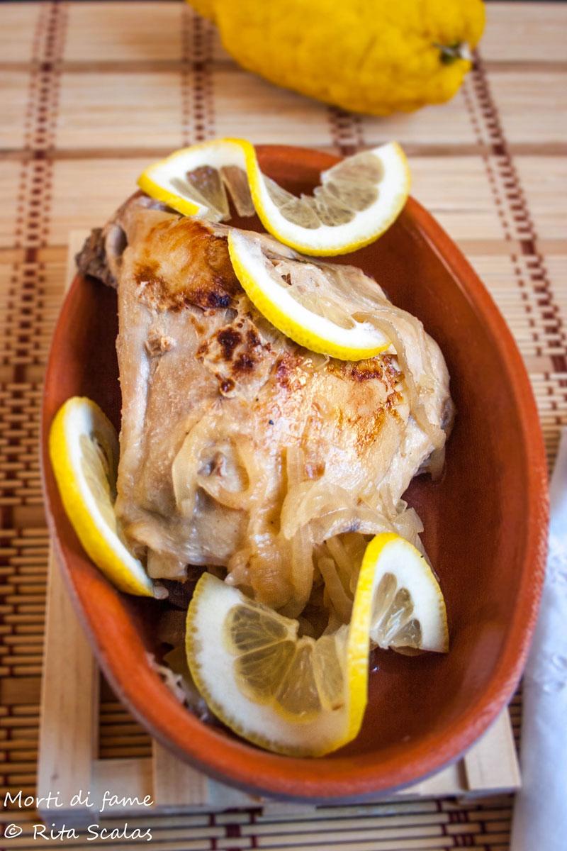 pollo al limone light morti di fame