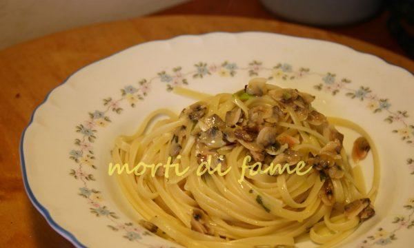 Spaghetti alle vongole ricetta da due soldi :-D
