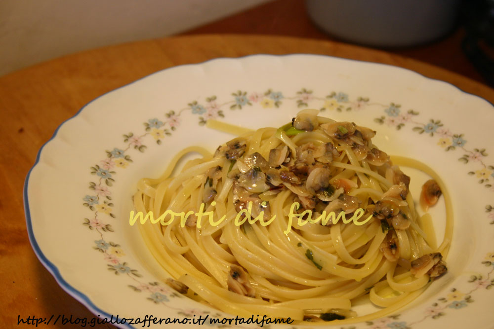 spaghetti alle vongole ricetta da due soldi :-d - Come Cucinare Le Vongole Surgelate