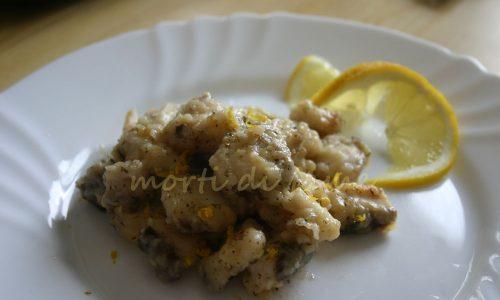 Verdesca al limone ricetta veloce