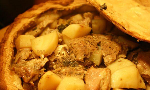Panada di agnello, ricetta sarda