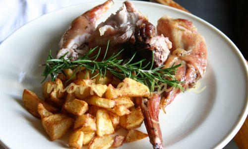 Coniglio arrosto, ricetta dietetica