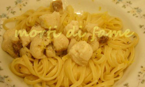 Linguine alla verdesca al limone, ricetta veloce