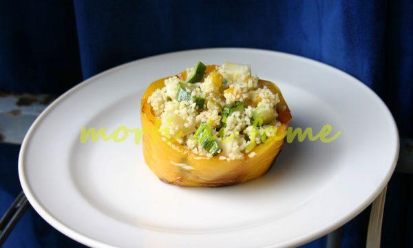 Peperoni ripieni al couscous, ricetta estiva