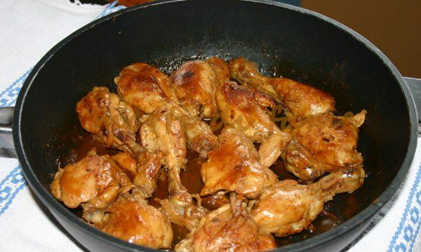 Cosce di pollo alla paprika, ricetta dietetica