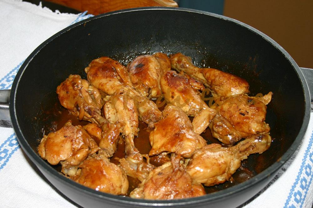 Cosce di pollo alla paprika ricetta dietetica morti di fame - Come cucinare le cosce di pollo in padella ...