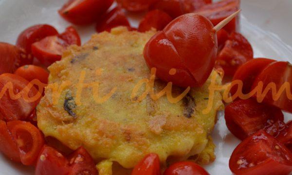 Hamburger di pesce saporiti, ricetta di riciclo