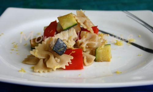 Pasta con pesce spada e verdure, ricetta veloce