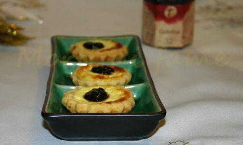 Tartellette di robiola e Gelatina di aceto balsamico, ricetta La Tradizione in Cucina…