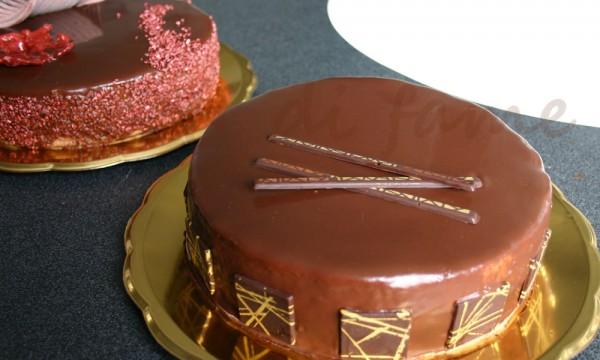 La torta gianduia, spiegazioni composizione finale