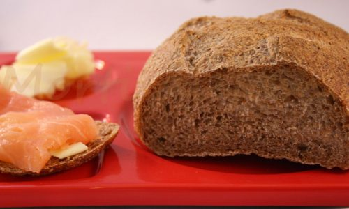 Pane integrale con lievito madre, ricetta