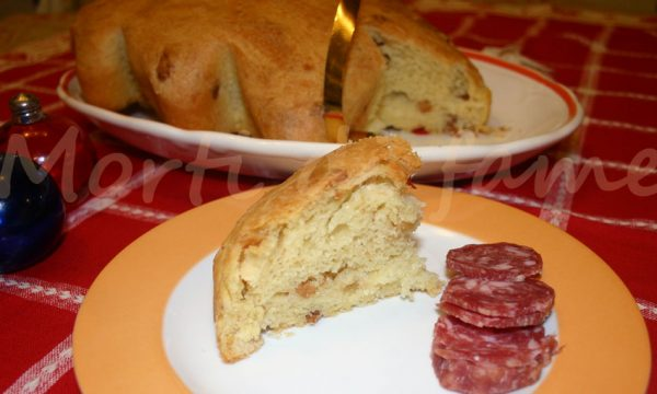 Panettone salato con lievito madre, ricetta