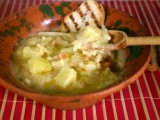 zuppa di fave e patate morti di fame