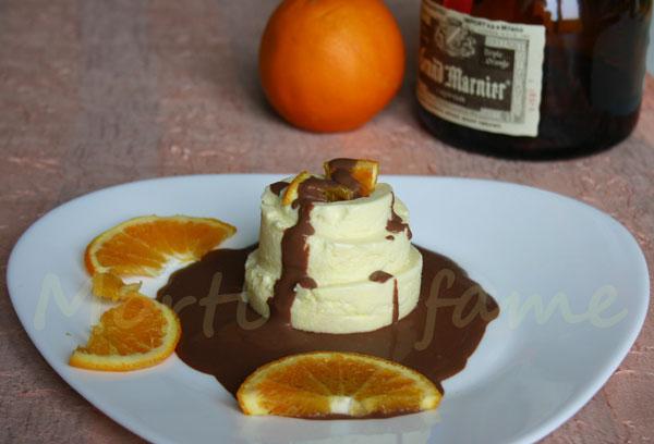 bavarese al cioccolato bianco e grand marnier morti di fame